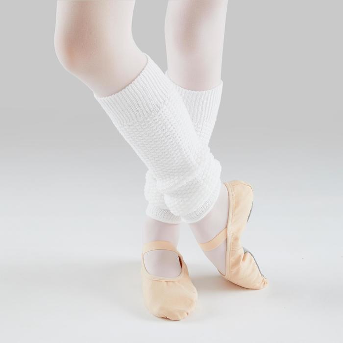 Guêtres de danse classique et moderne blanches fille