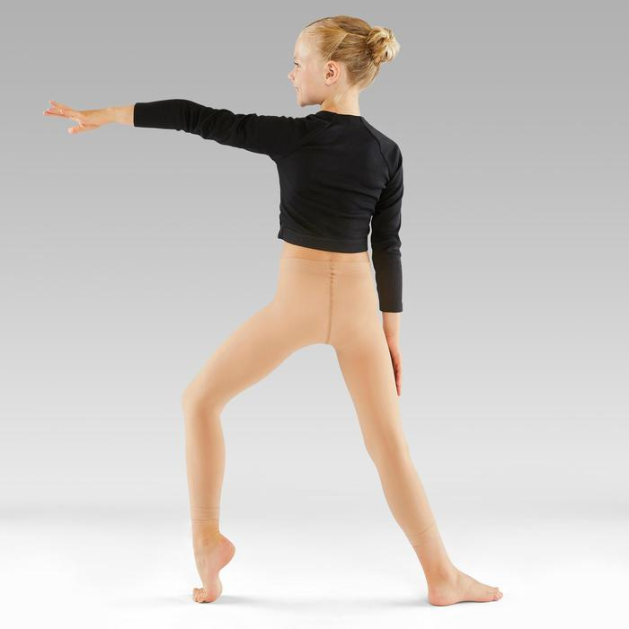 Collants de danse classique et moderne sans pieds chairs fille