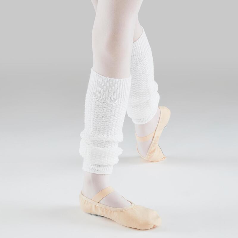 Calentadores Ballet Domyos Niña Blanco