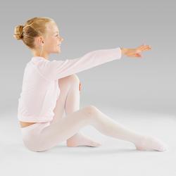 Collant danse classique fille rose
