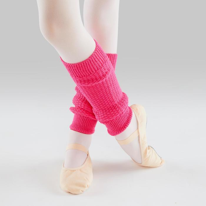 Guêtres de danse classique et moderne fille fushia