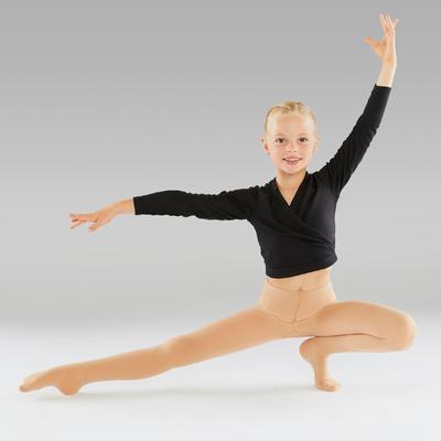 Collants de danse classique fille chair