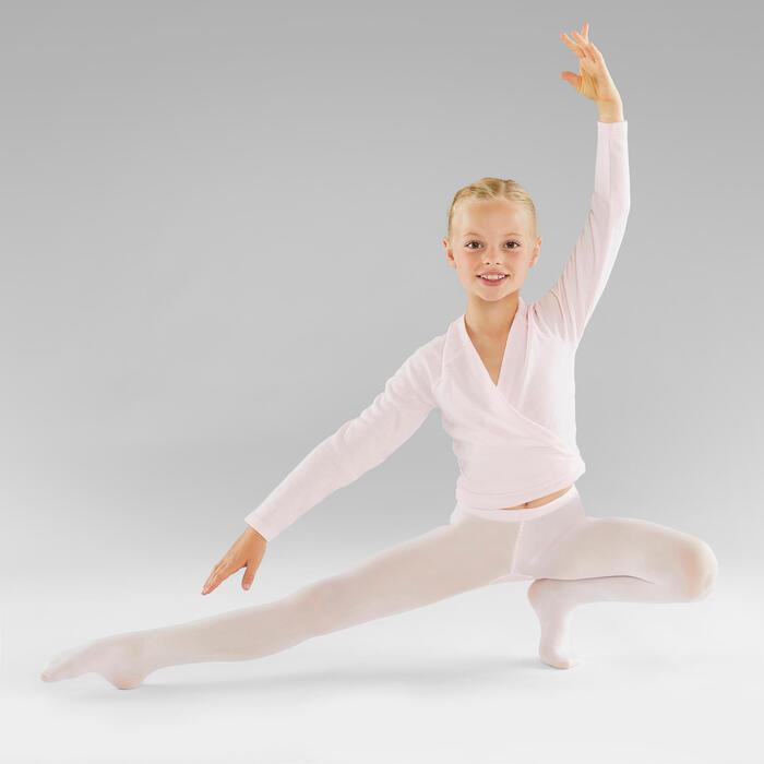Ballettstrumpfhose Mädchen rosa