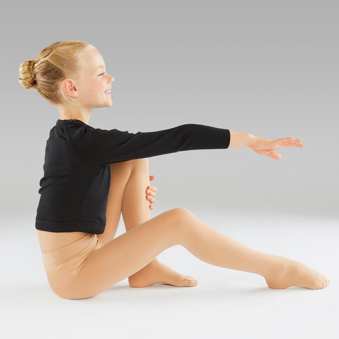Ballettstrumpfhose Mädchen hautfarben