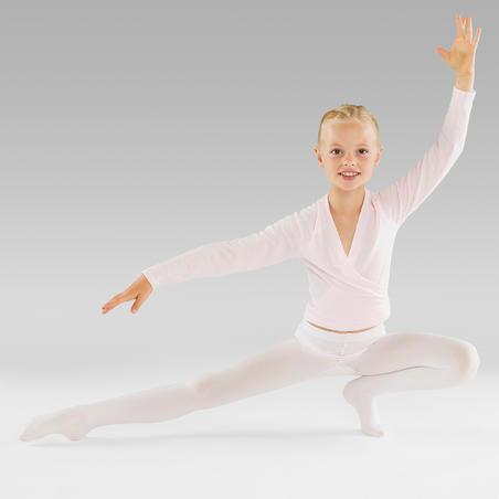 Girls' Convertible Ballet Tights - Pink