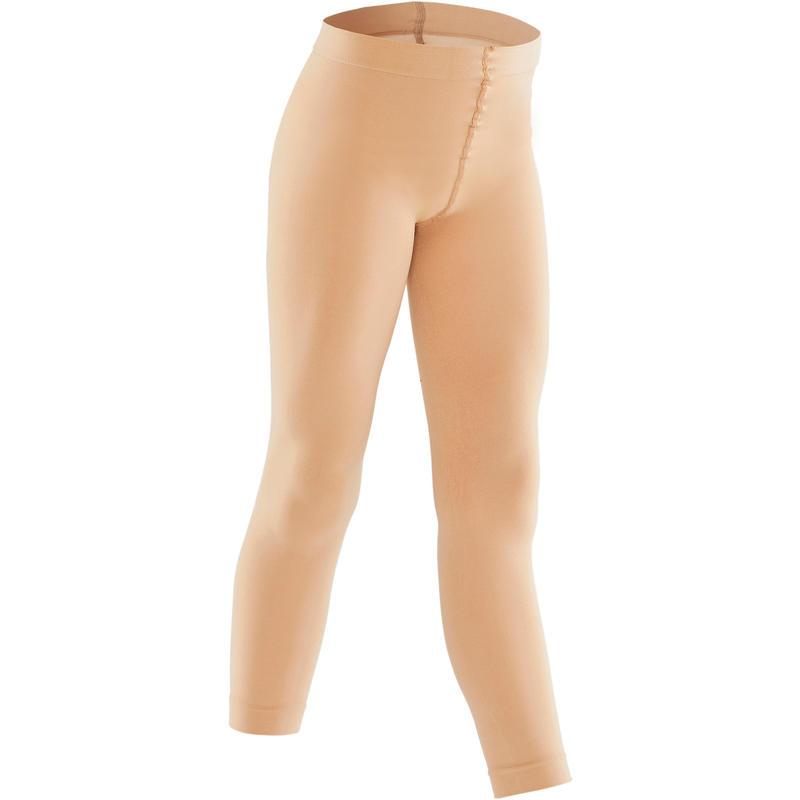 Panties sin pies niña color piel