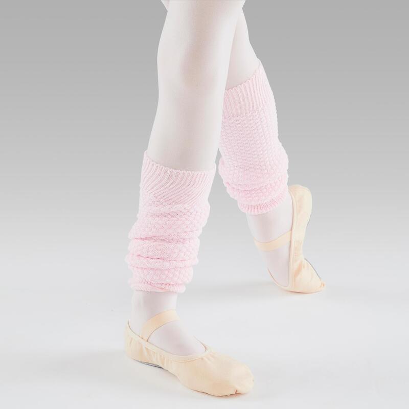 Calentadores Ballet Domyos Niña Rosa
