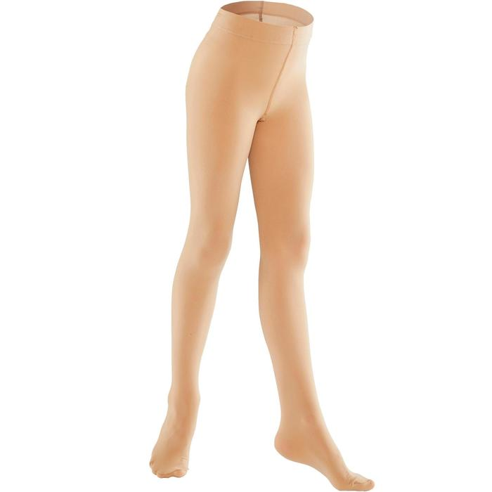 Collants de danse classique fille chair