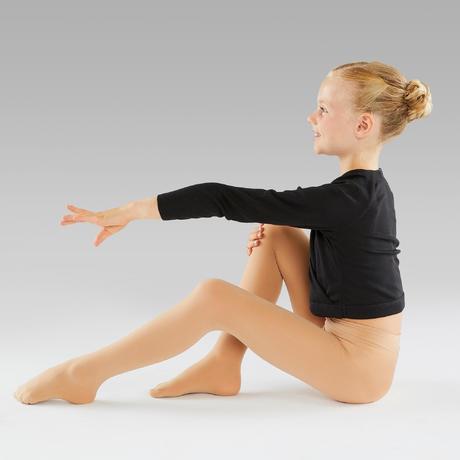 Ballettstrumpfhose Mädchen hautfarben   Domyos by Decathlon