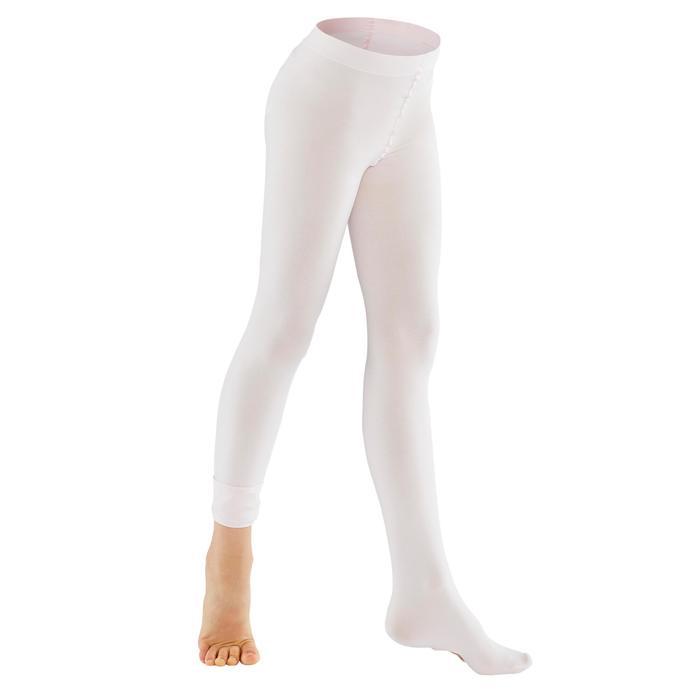 Ballettstrumpfhose variabel Mädchen hellrosa
