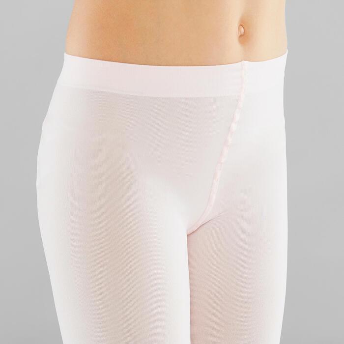 女童芭蕾舞緊身褲 - 粉紅色