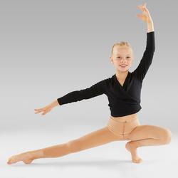 Collants sans pied de danse classique et moderne fille chair