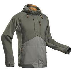 Men's Hiking Sweatshirt NH500 Hybrid - Khaki