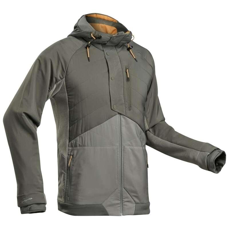 MEN NATURE HIKING JUMPERS/HOODIES Hiking - M Sweatshirt NH500 Hybrid - KA QUECHUA - Hiking Clothes