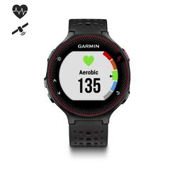 Garmin Forerunner 235 HRM Reloj GPS Pulsómetro Muñeca Negro/Rojo