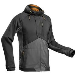 Men's Hiking Hybrid Sweatshirt NH500 - Black