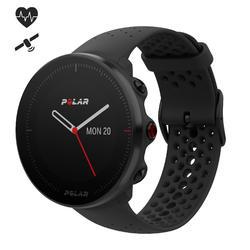 Gps-horloge hartslag multisport Vantage heren zwart