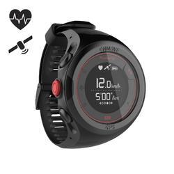 GPS跑步運動錶與腕戴式心率監測器ONmove 500 - 黑色