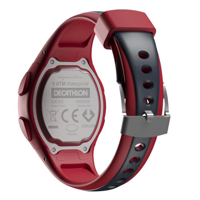 Relógio Cronómetro de Corrida W200 S Vermelho e Azul