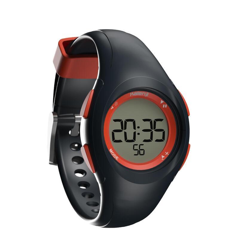 Relógio cronómetro de corrida W200 S Azul e Laranja