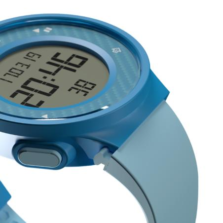W500 M men's running timer watch - Blue