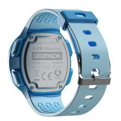 Montre chronomètre de course à pied W500 M bleue