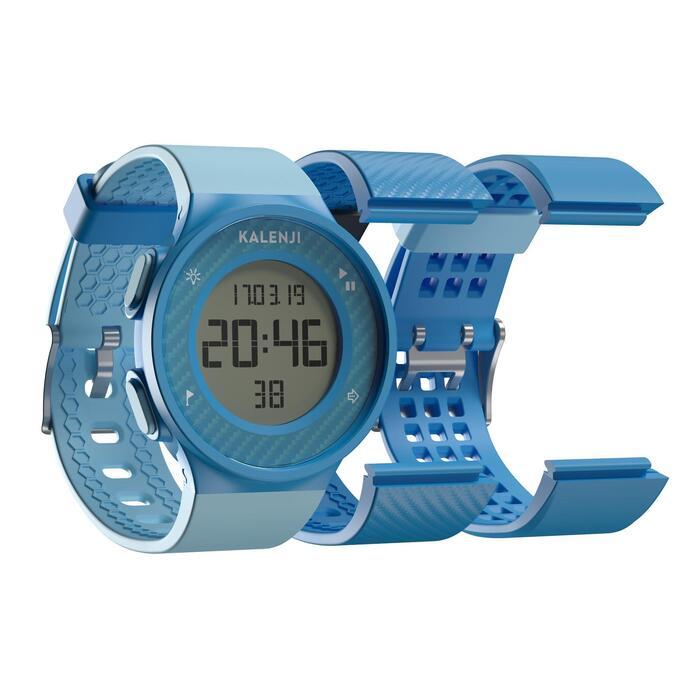 Hardloophorloge met stopwatch W500 M blauw
