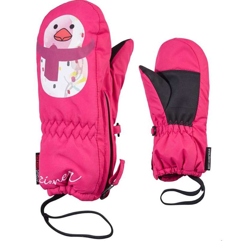 EQUIPAGGIAMENTO SLITTINO BABY Baby - Moffole sci bimba rosa ZIENER - Abbigliamento