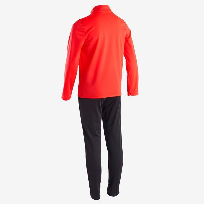 Warm en ademend synthetisch trainingspak voor jongens GYM'Y S500 jongens rood