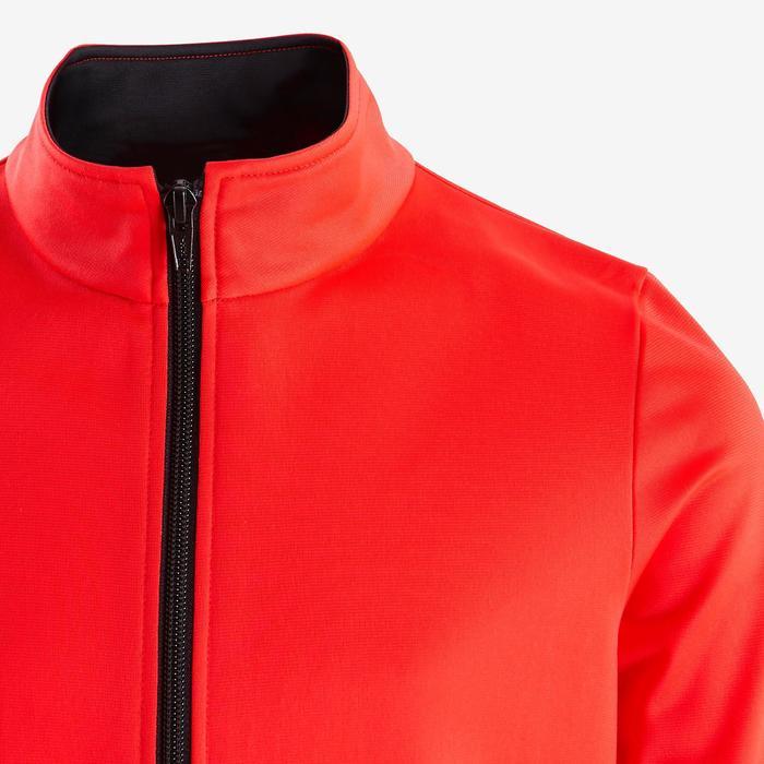 Warm en ademend trainingspak voor gym meisjes GYM'Y S500 synthetisch rood