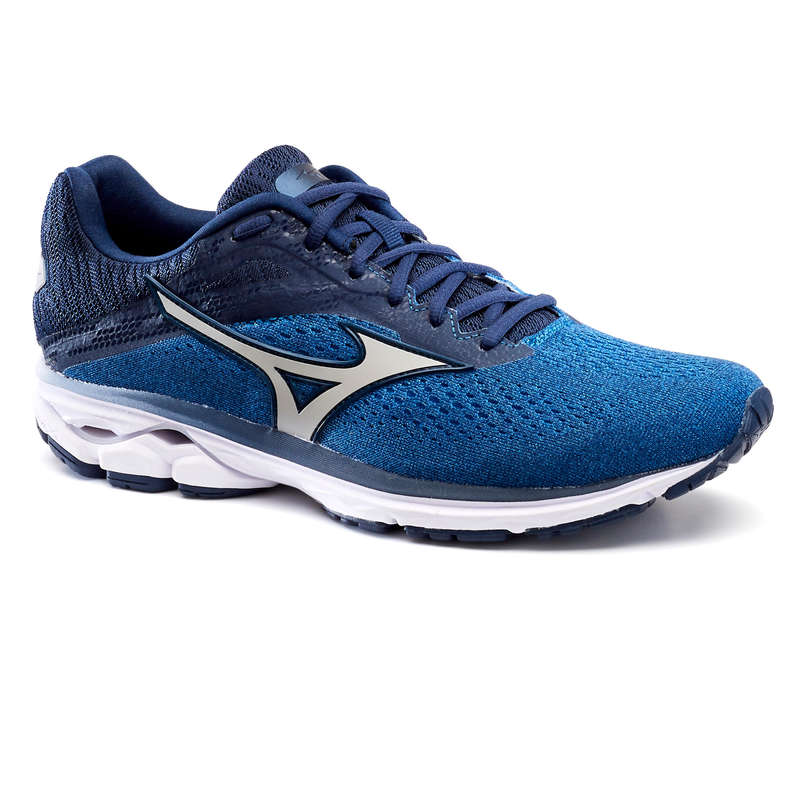 MAN ROAD RUNNING SHOES Running - M Wave Rider - Blue AW19 MIZUNO - Running Footwear
