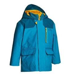 Boys' 2-6 years Snow Hiking Warm 3-in-1 Jacket SH100 - Blue