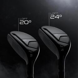 Golf hybride 500 linkshandig maat 2 en gemiddelde snelheid