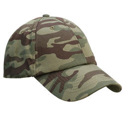 Casquette chasse Steppe 100 camouflage