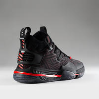Men's Mid-Rise Basketball Shoes SE900 - Black