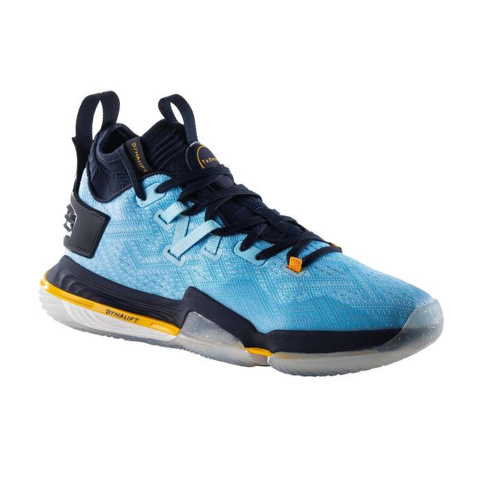 CHAUSSURE DE BASKETBALL HOMME ELEVATE 900 / TIGE MID BLEUE