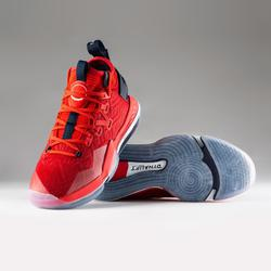 CHAUSSURE DE BASKETBALL HOMME ELEVATE 900 / TIGE MID ROUGE