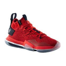 男款中筒籃球鞋 Elevate 900 - 紅色