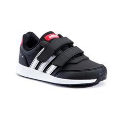 Chaussures marche enfant Adidas Switch noir / blanc velcro