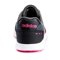 Chaussures marche enfant Adidas Switch gris / rose lacets