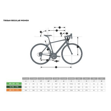 Triban Regular Road Bike - Women