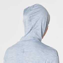 RUN WARM HOODED WOMEN'S JERSEY - GREY