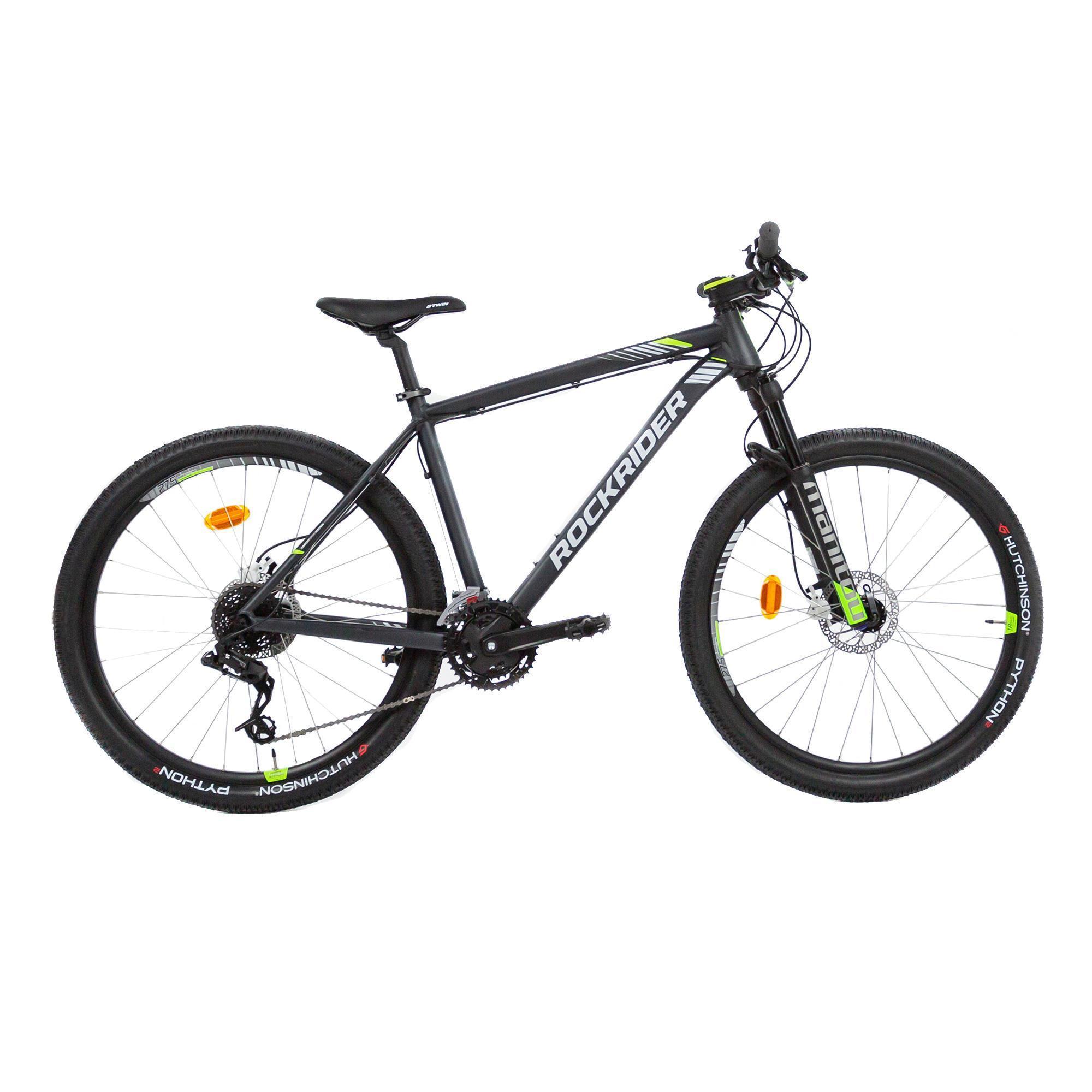 Bicicleta De Montana Rockrider 530 Ltd 27 5 Negro Amarillo