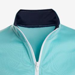 Warm trainingspak voor meisjes GYM'Y S500 synthetisch/ademend blauw