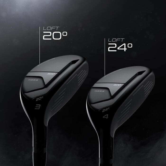 Golf hybride 500 rechtshandig maat 2 gemiddelde snelheid