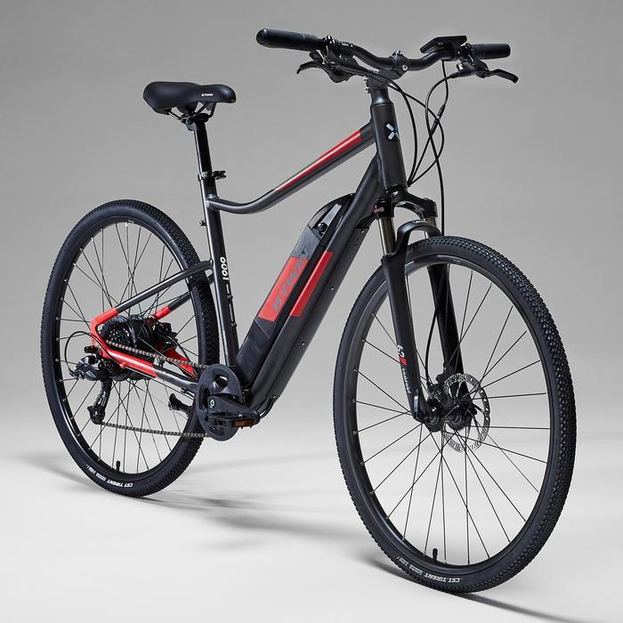 "E-Bike 28"" Cross Bike Riverside 500 E grau/rot"