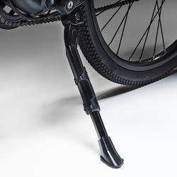 Elektrische hybride fiets 500 E grijs/rood