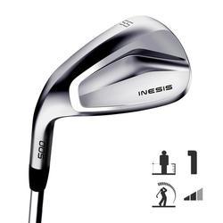 Golf wedge 500 linkshandig maat 1 gemiddelde snelheid
