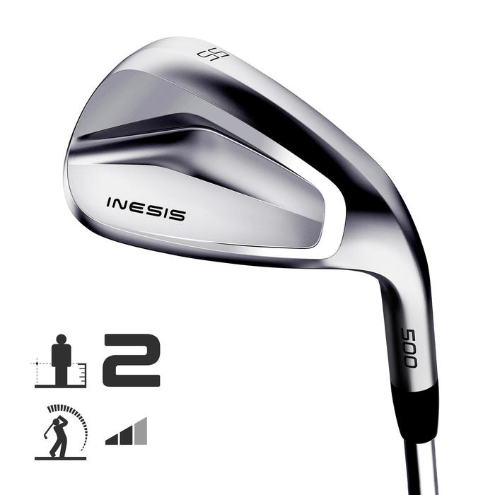 WEDGE GOLF 500 DROITIER TAILLE 2 & VITESSE MOYENNE