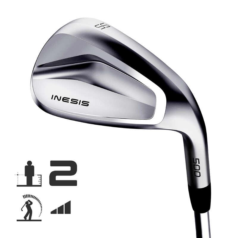 TACOS DE GOLFE INTERMÉDIO Golf - WEDGE GOLF 500 RH T2_HS INESIS - Material de Golf